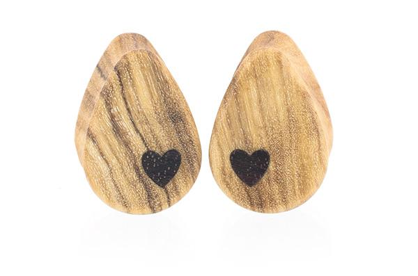 Side Heart Teardrop