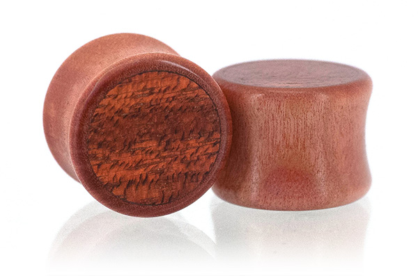 Pink Ivory / Bloodwood Inlays