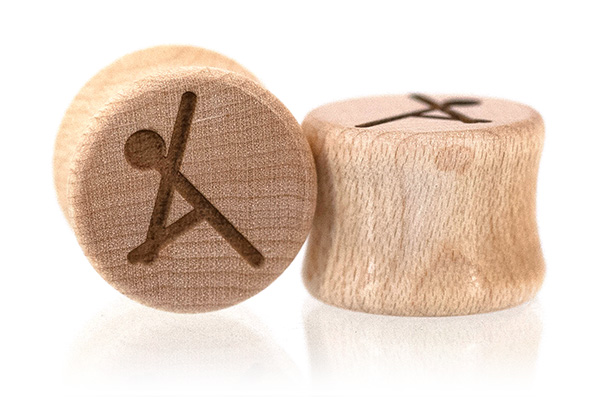 Yoga Plugs - Maple